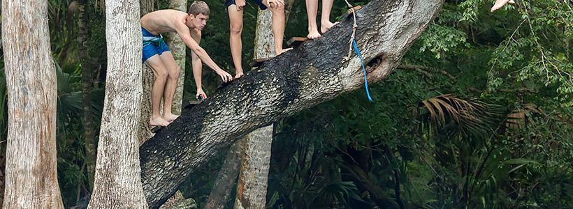 Florida Nature Photography | Chassahowitzka Rope Swing