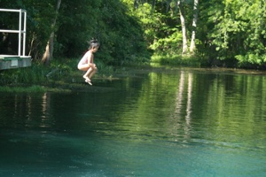 Skinny Dipping at Naked Springs