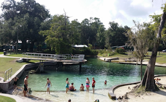 Florida Springs with Amenities for RV Camping