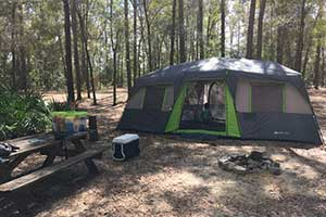 Ginnie Springs 3 Day Camping Trip