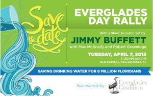 Jimmy Buffet to perform at the Everglades Day Rally on April