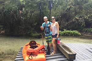 Suz & Zeal: Juniper Springs Canoe Run