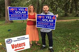 Florida Voters Overwhelmingly Approve Solar Amendment