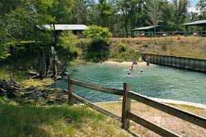 Hart Springs in Bell, Fla., offers convenient dive location