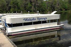 Boat Tour on the Wakulla Springs