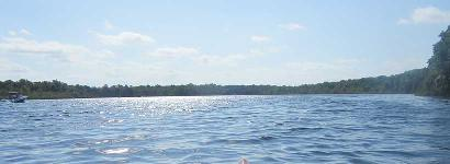 Kayaking Salt Springs